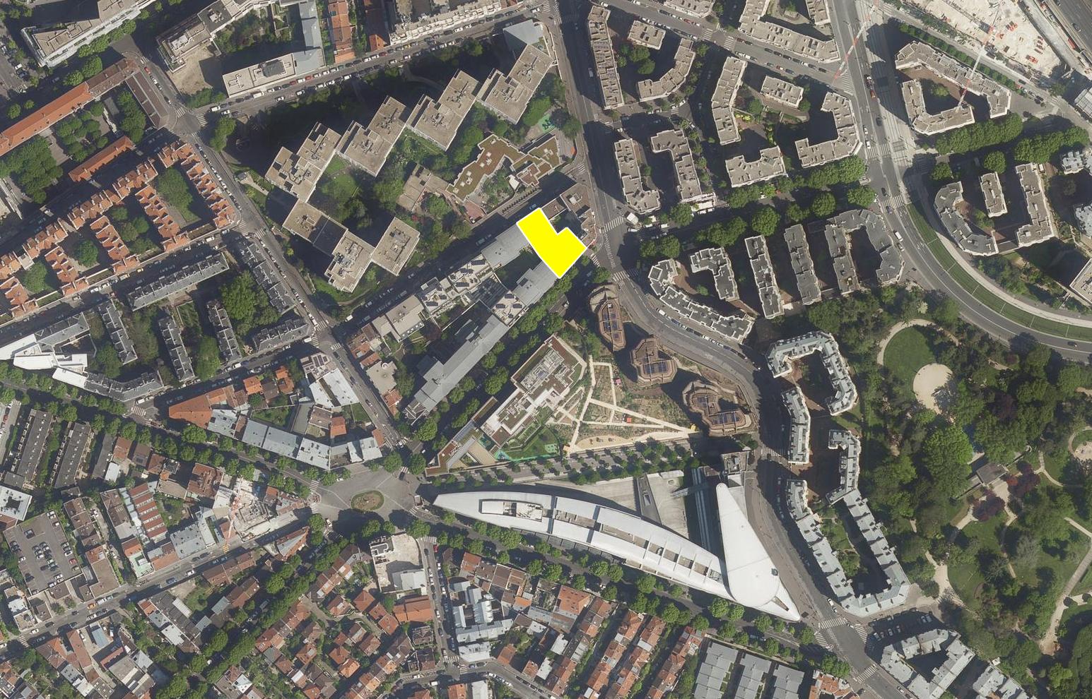 Concours, 50 logements, Danube, Paris 19 - Palast est retenu à concourir pour la construction de 50 logements à Paris 19 quartier Mouzaia pour Altarea Cogedim