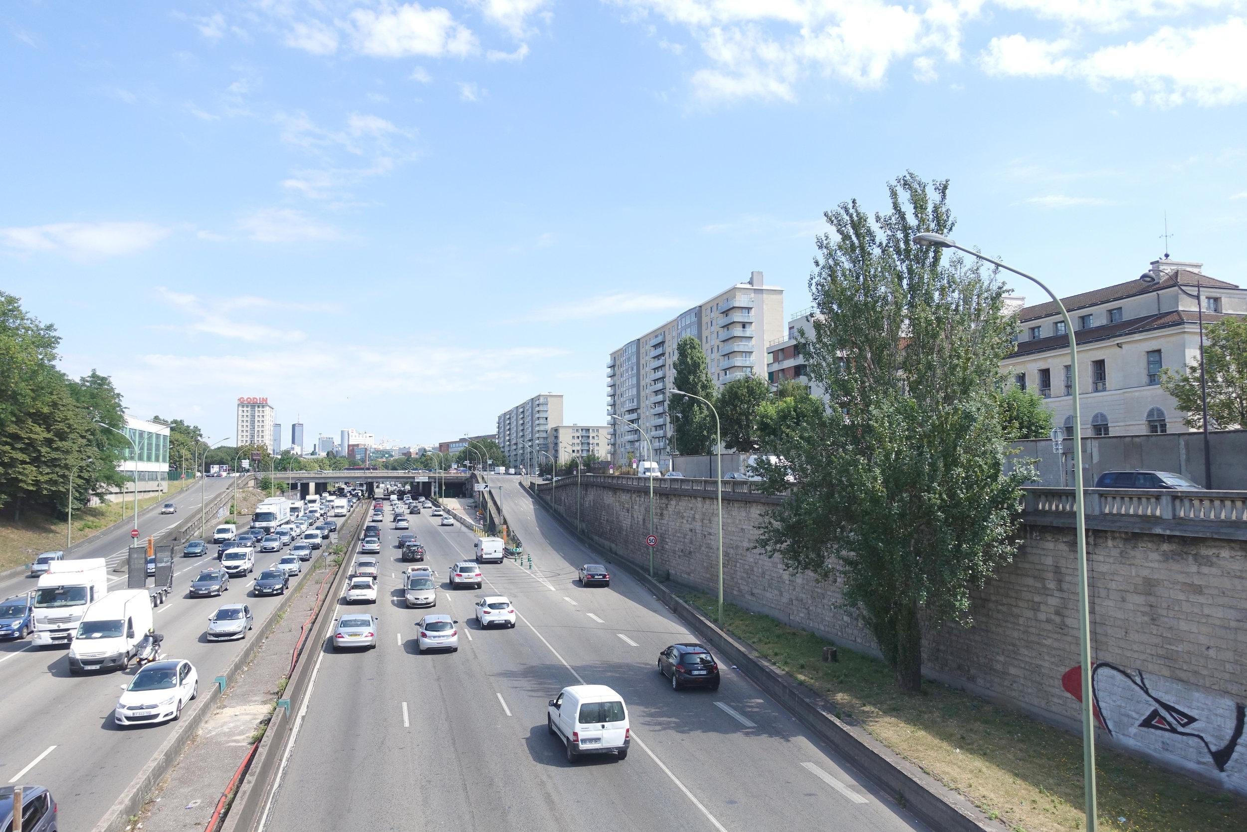Concours, Ecole Bleue, Porte de Vincennes - Palast est retenu à concourir pour la construction de l'Ecole Bleue pour la RIVP porte de Vincennes, Paris 12e, en collaboration avec l'agence Morris+Company