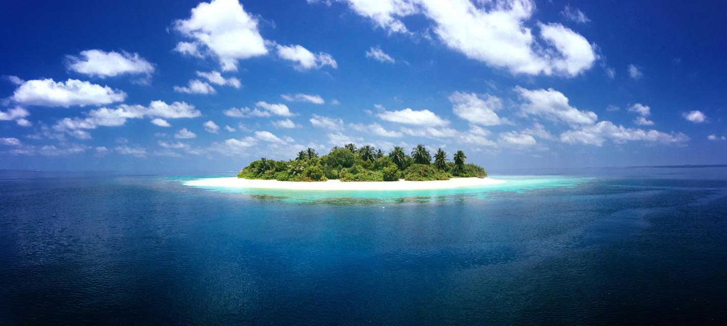 This is one of our base islands for the day trips.