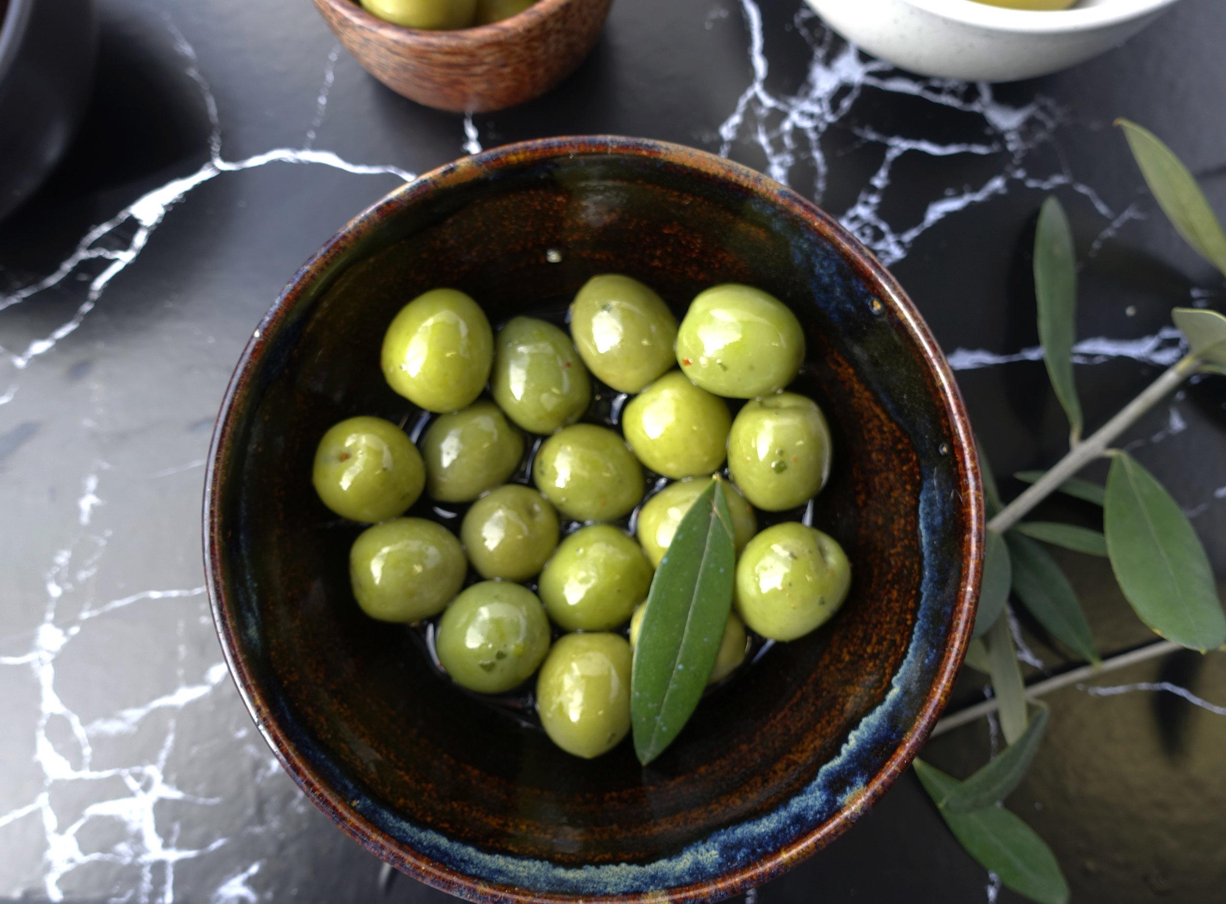 Sicilian Green Olives