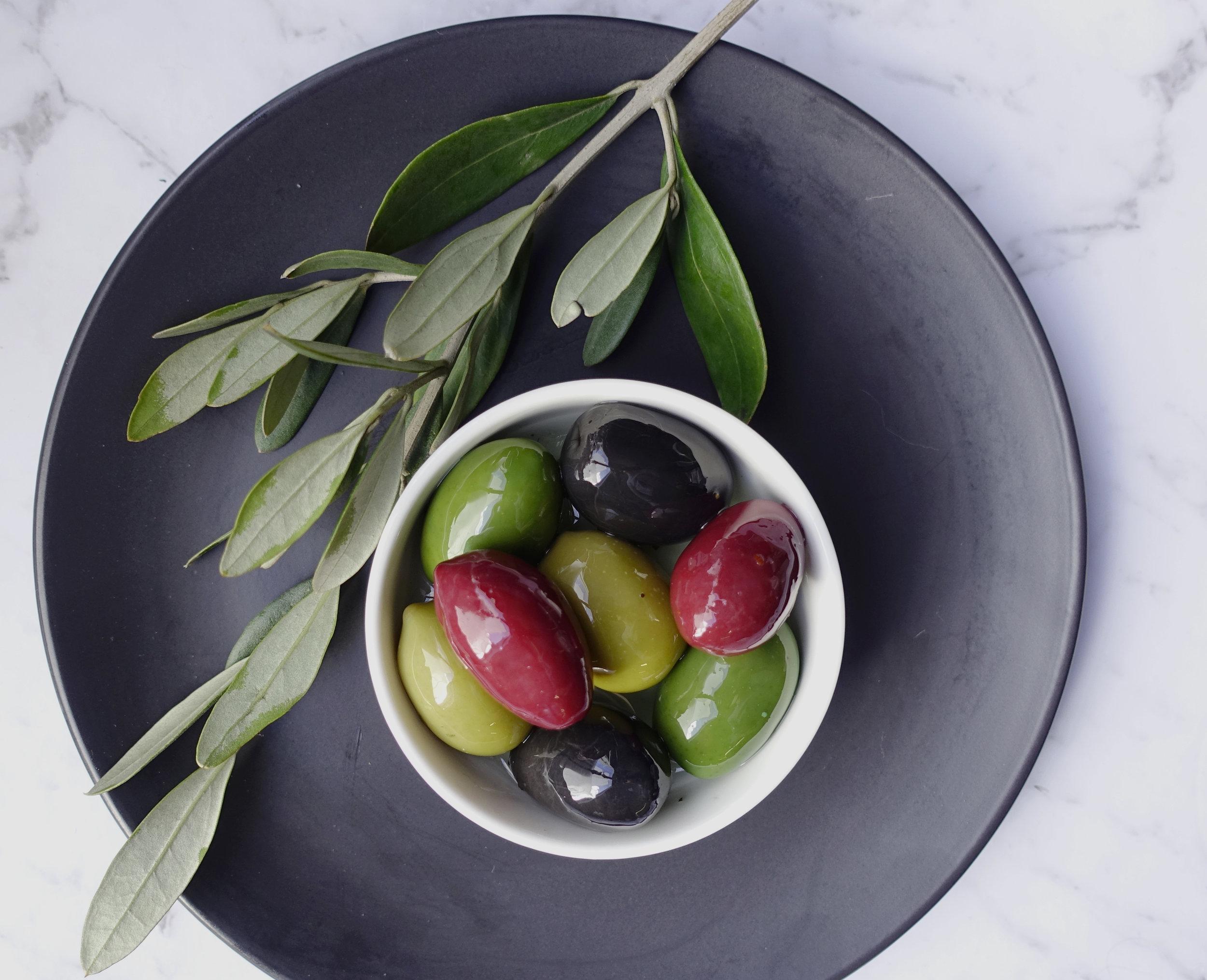 Rainbow Olives