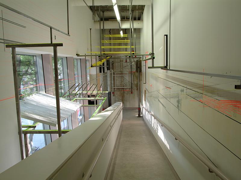 En Restauro, 2004, Ramp Project for the Institute of Contemporary Art, Philadelphia PA
