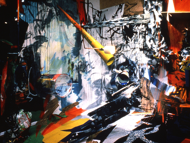 3D, 1983, Holly Solomon Gallery, New York NY