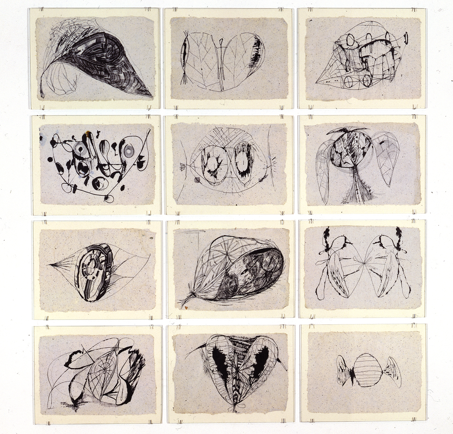 Untitled: Twelve Drawings (1), 1991-1992