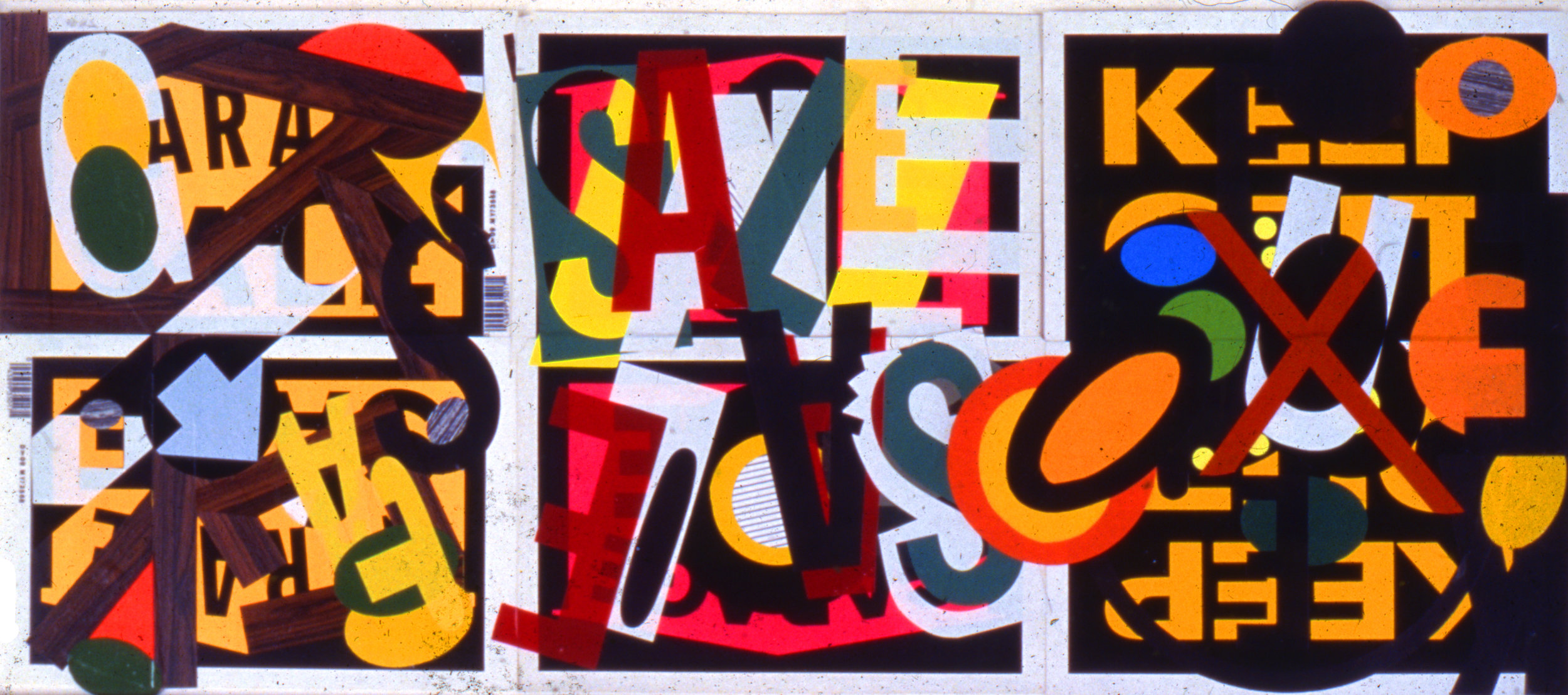 Untitled (signs), 1986