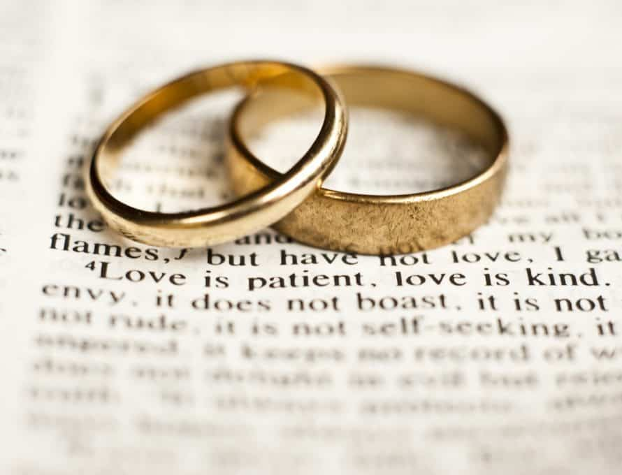 That is why a man leaves his father and mother and is united to his wife, and the two become one flesh. - Genesis 2:24