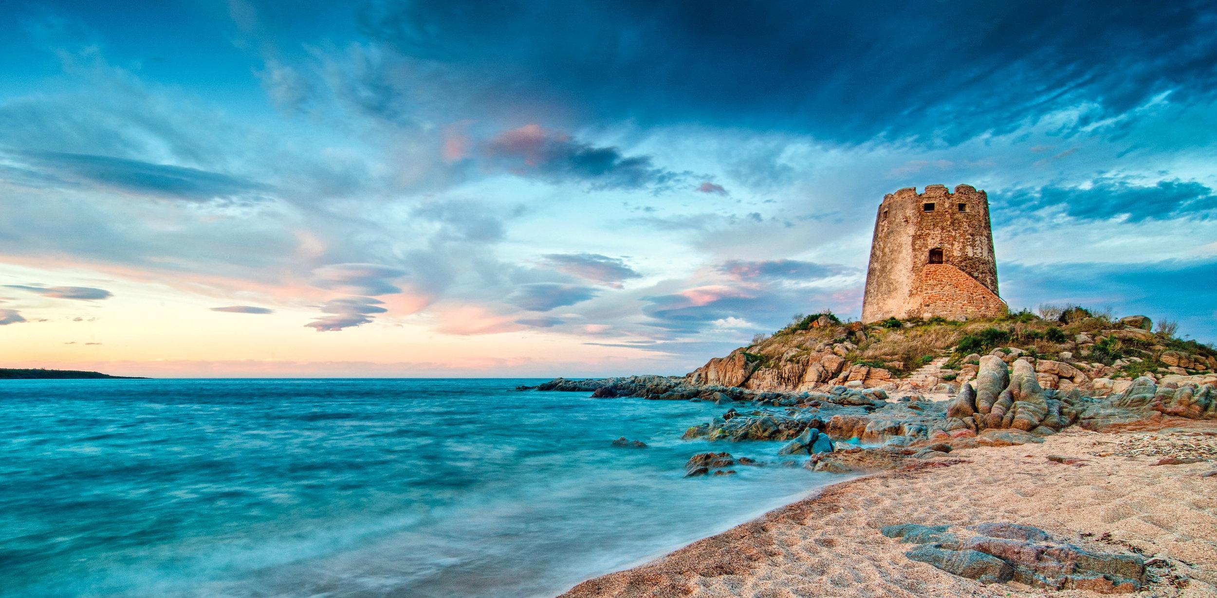 La Torre di Bari Barisardo Sardinia Italy Sunset Long Exposure_Raffaele Cabras (1) copy.jpg
