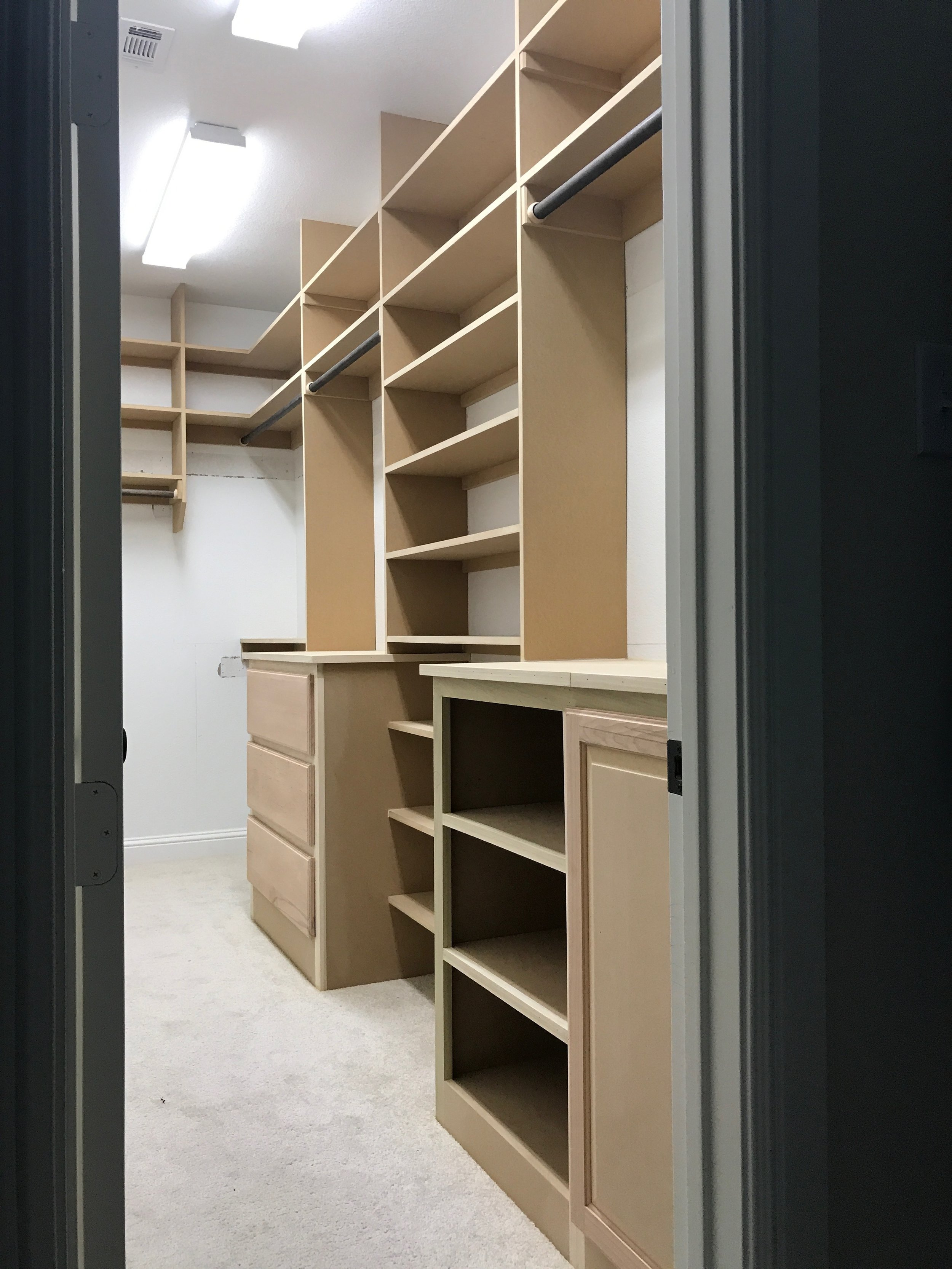 Cutting Edge Trim Dfw Trim Carpentry Custom Closet