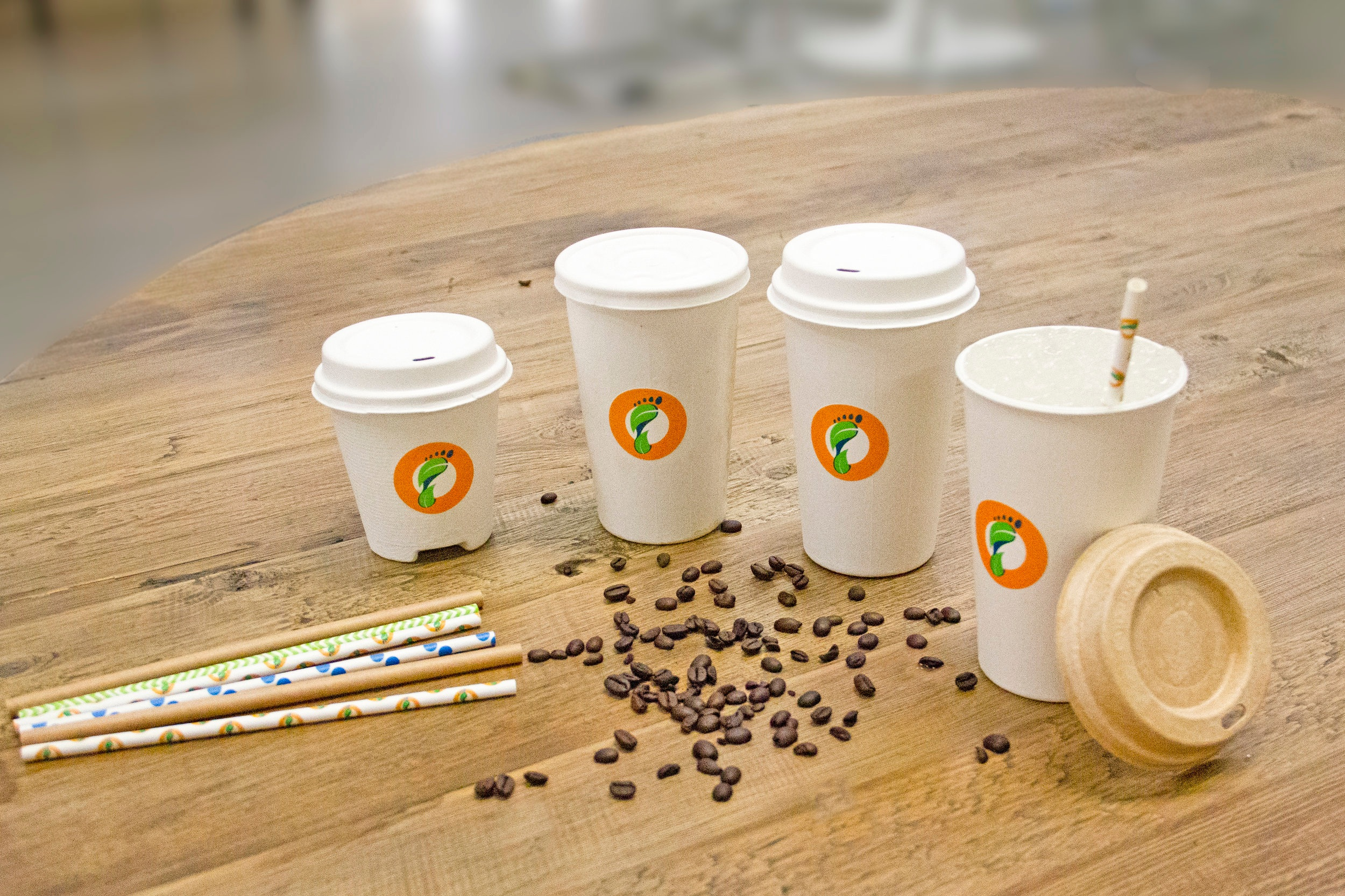 Footprint - USAINNOVATIVE CUP LINER CATEGORYFootprint creates cups, lids and straws that are fully formed fiber-based solutions, with an aqueous-based coating that is recyclable and compostable.