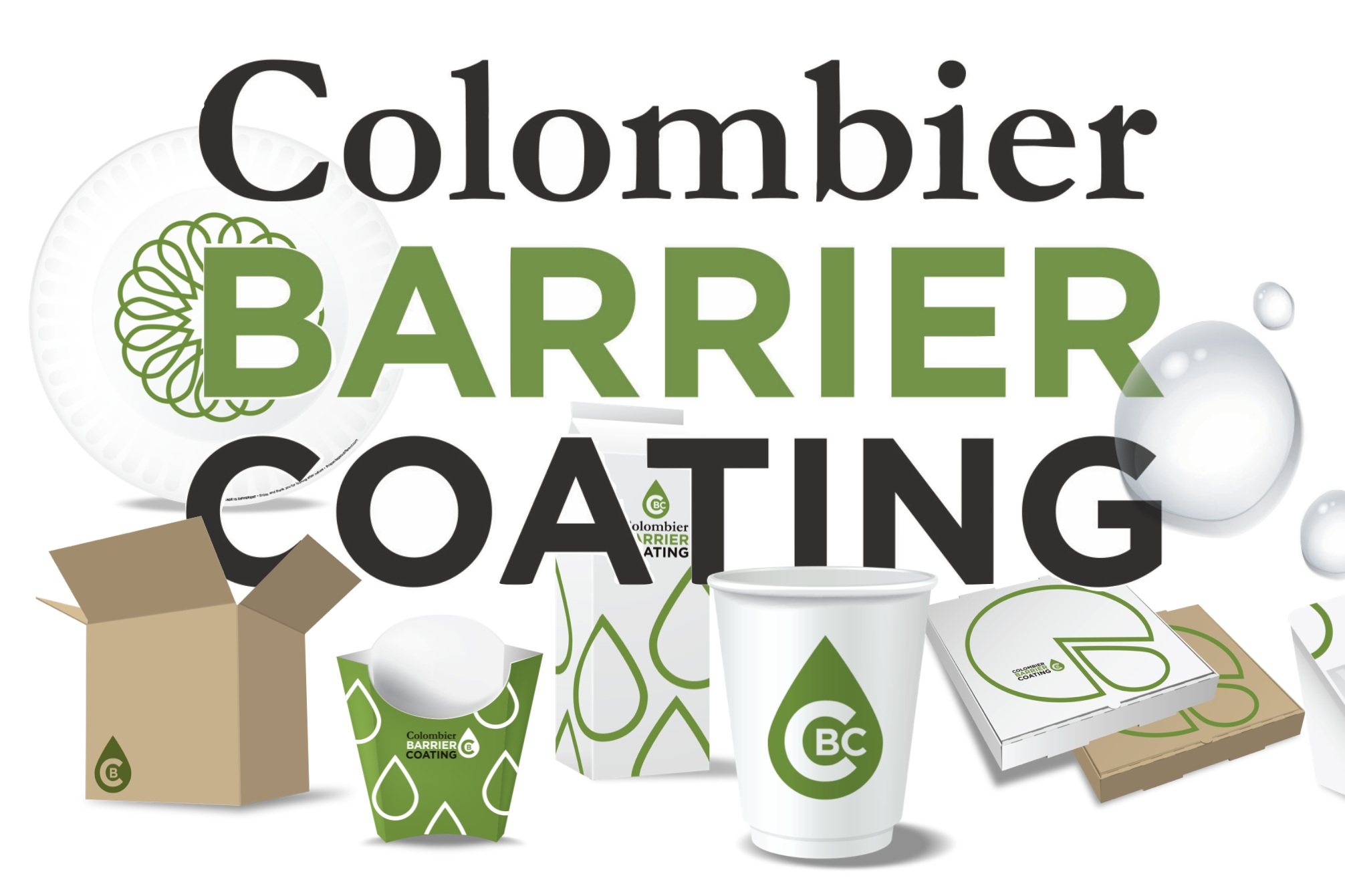 Colombier - Netherlands, FinlandINNOVATIVE CUP LINER CATEGORYColombier creates a recyclable and compostable barrier for paperboard cups.