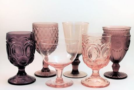 Glassware (Variety of colors)
