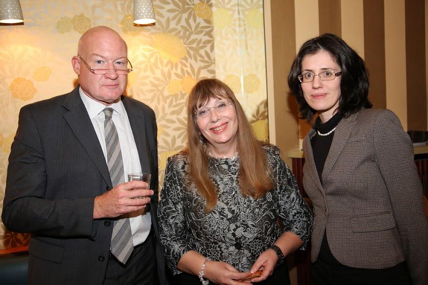 Ethan, lady from Bulgarian Embassy, Ms. Kalina. (Image: Florian Godovits)