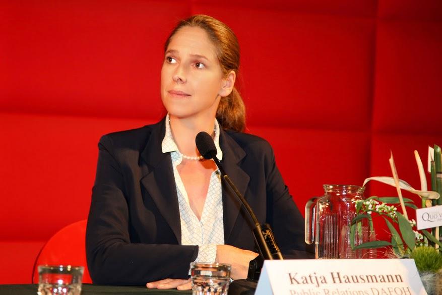Dr. Katja Hausmann, DAFOH Representative (Image: Florian Godovits)
