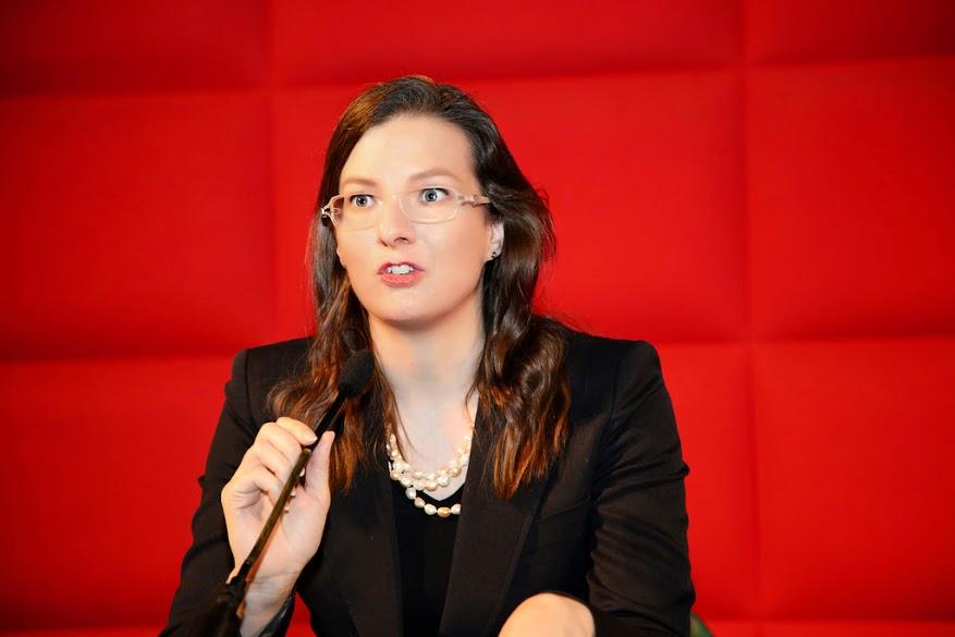 Ms. Simone Schlegel, Vice-President of International Society for Human Rights in Switzerland. (Image: Florian Godovits)