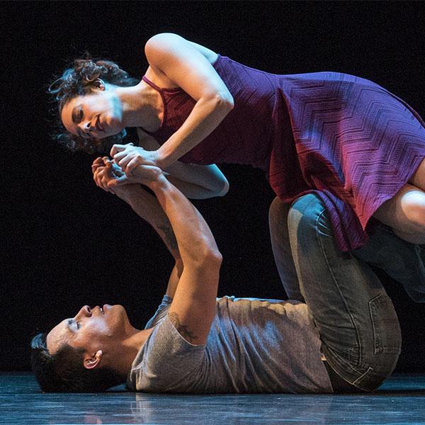 Caroline Calouche & Javier Gonzalez Photo: Jeff Cravotta