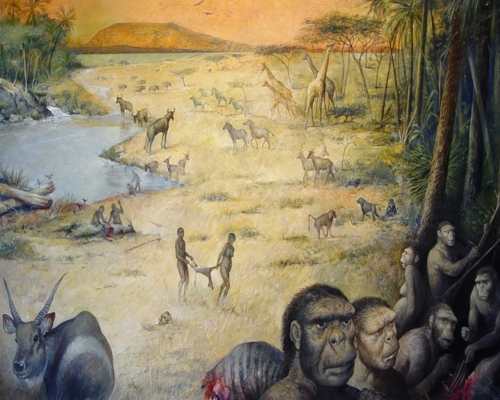 Credit: M.Lopez-Herrera via The Olduvai Paleoanthropology and Paleoecology Project and Enrique Baquedano