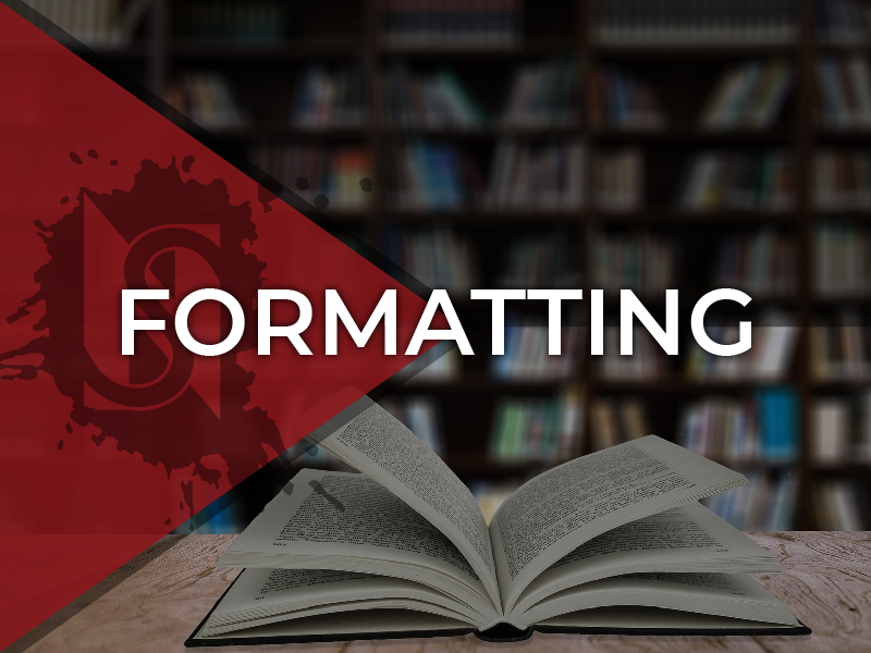 Formatting - If the cover is the most important visual aspect of your book, the formatting is a close second. NovelSharp will format your newest release for publication across all the major digital platforms, as well as print.