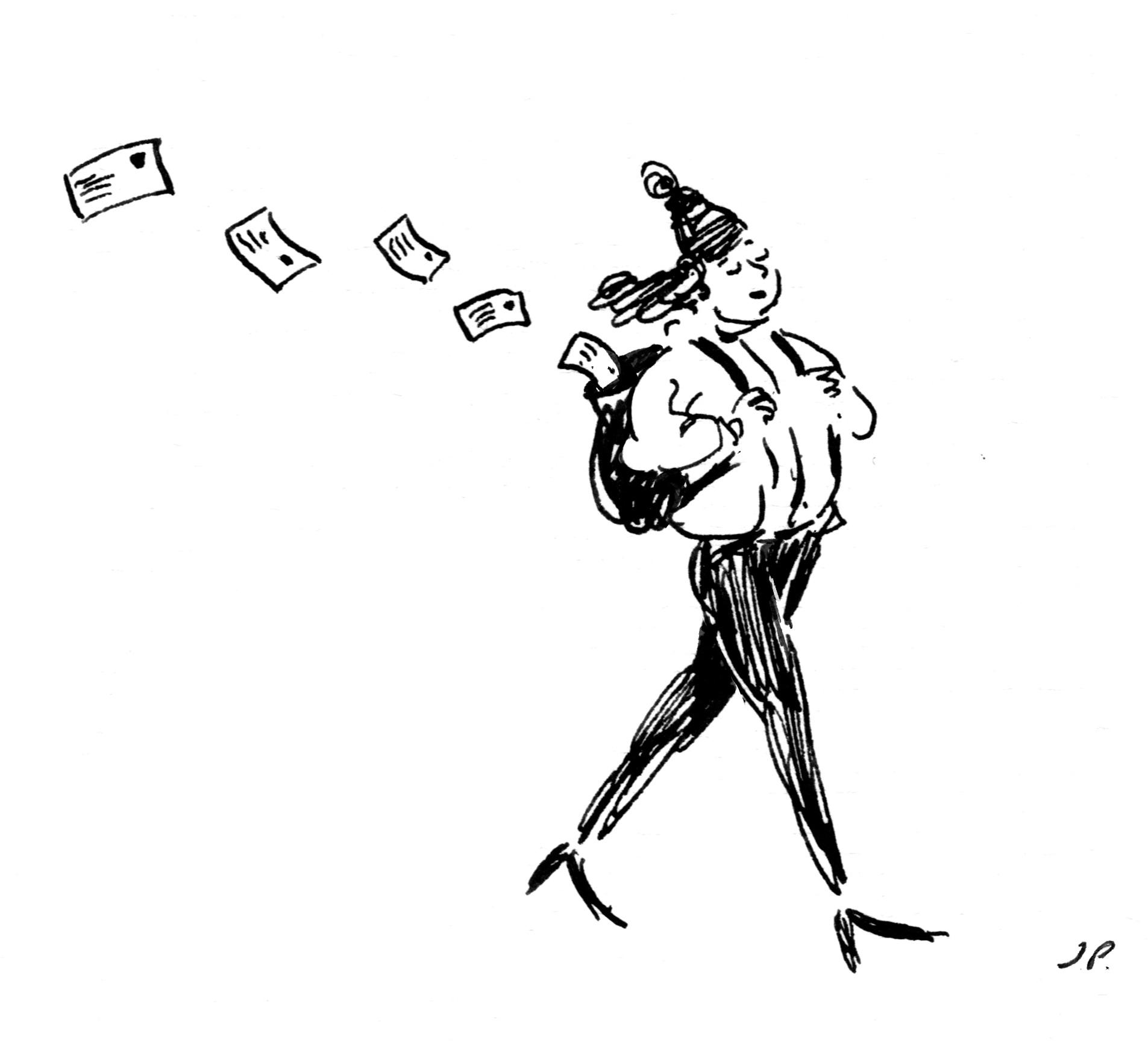 'Nomad Jenna' illustration by  Jeffrey Phillips