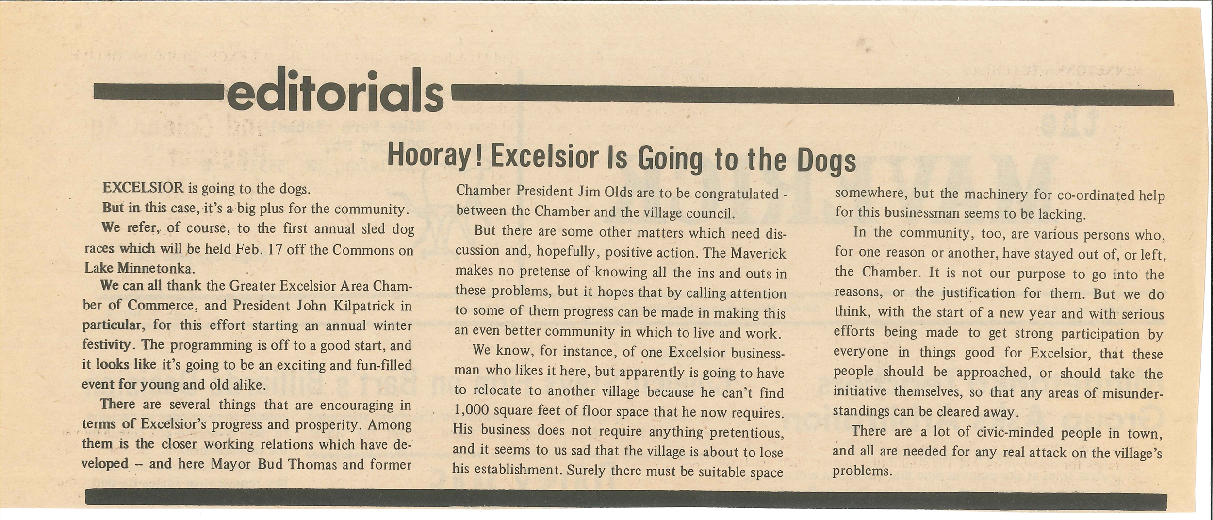 Editorials- Hooray Excelsior is going to the dogs.jpg