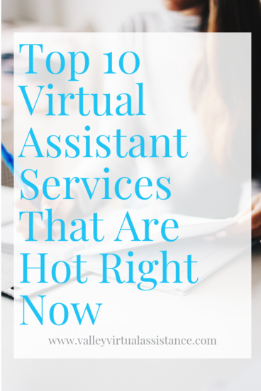 The Top 10 Virtual Assistant Services That Are Hot Right now #virtualassistant #vaservices #virtualassistantservices