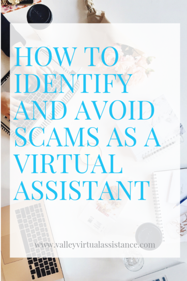 How to identify and avoid scams as a virtual assistant #VAScams #AvoidScams #ReportVAScams