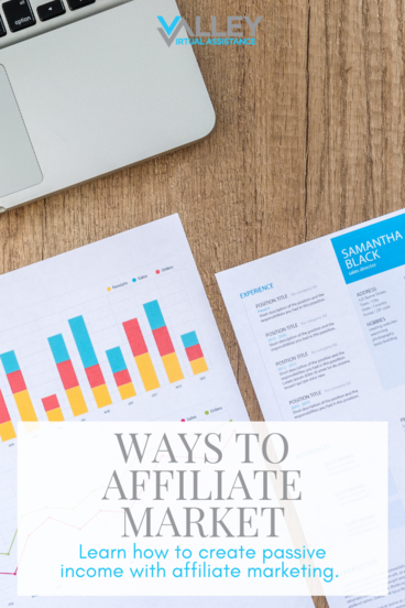Ways to Affiliate Market #affiliatemarket #passiveincome #businesstips