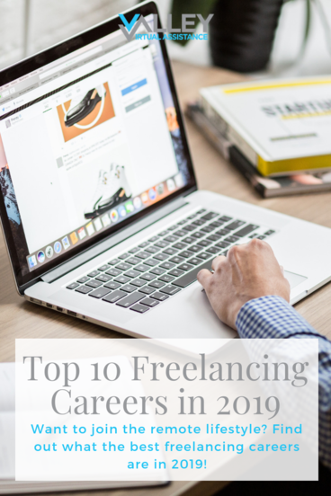 top 10 freelancing careers in 2019 #Freelancer #FreelancingCareers #WorkRemote