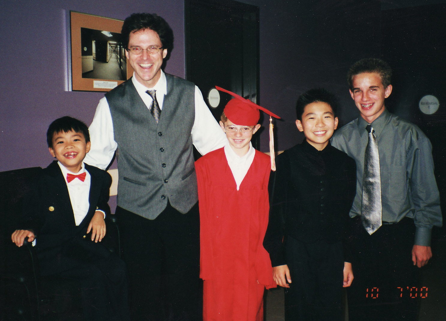 Family Concerts - with Kit Armstrong, Sebastian Chang and two other young gentlemen.