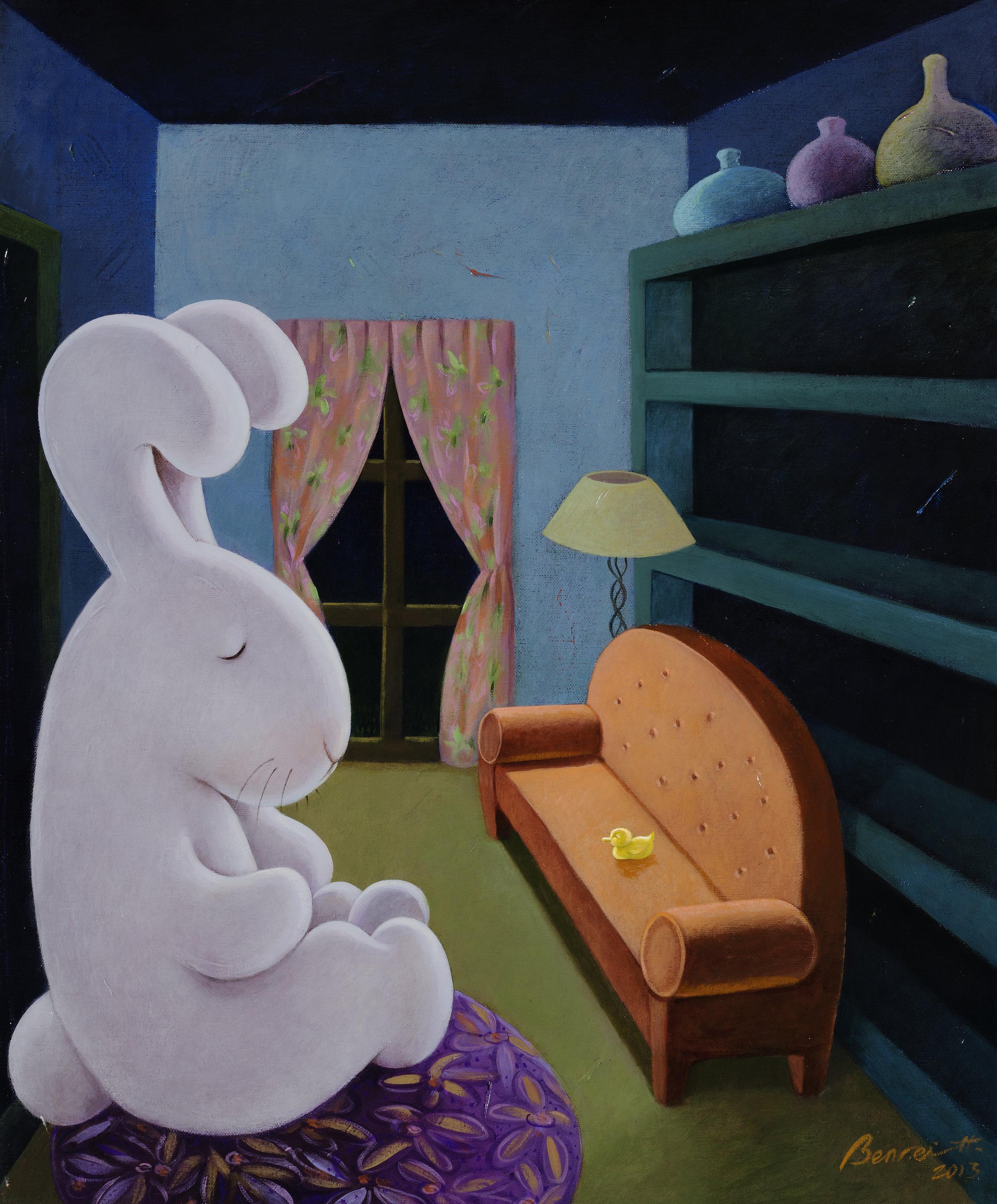 Big pet 守門巨兔