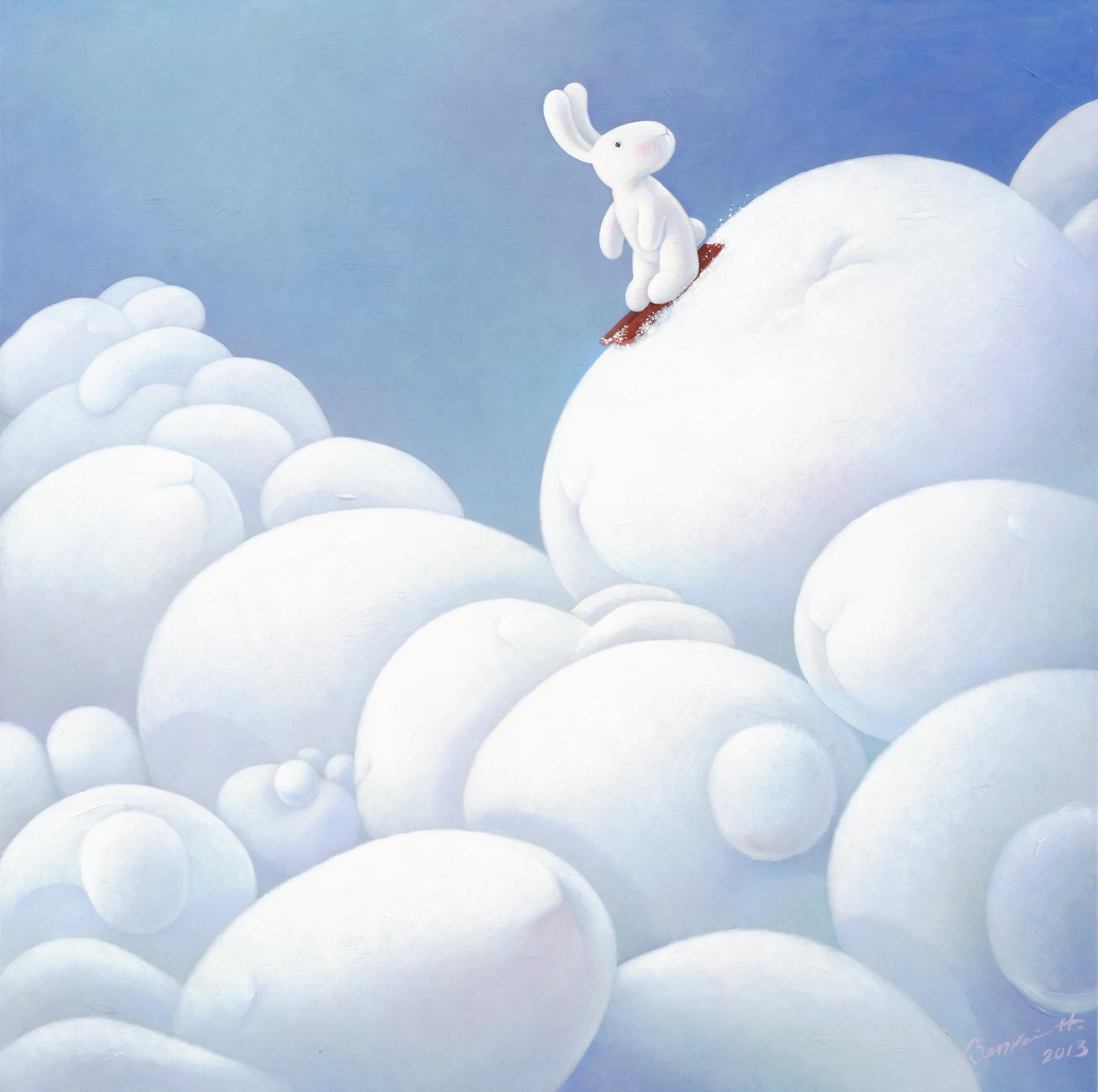 Who you met on the bunny moguls 飛塵勿擾