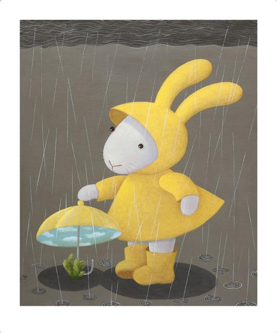 Rainy days variation- the cactus 雨天變奏曲- 仙人掌篇