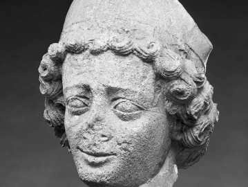 Head of a Youthful Bishop, Collection: Museum of Fine Arts, Boston