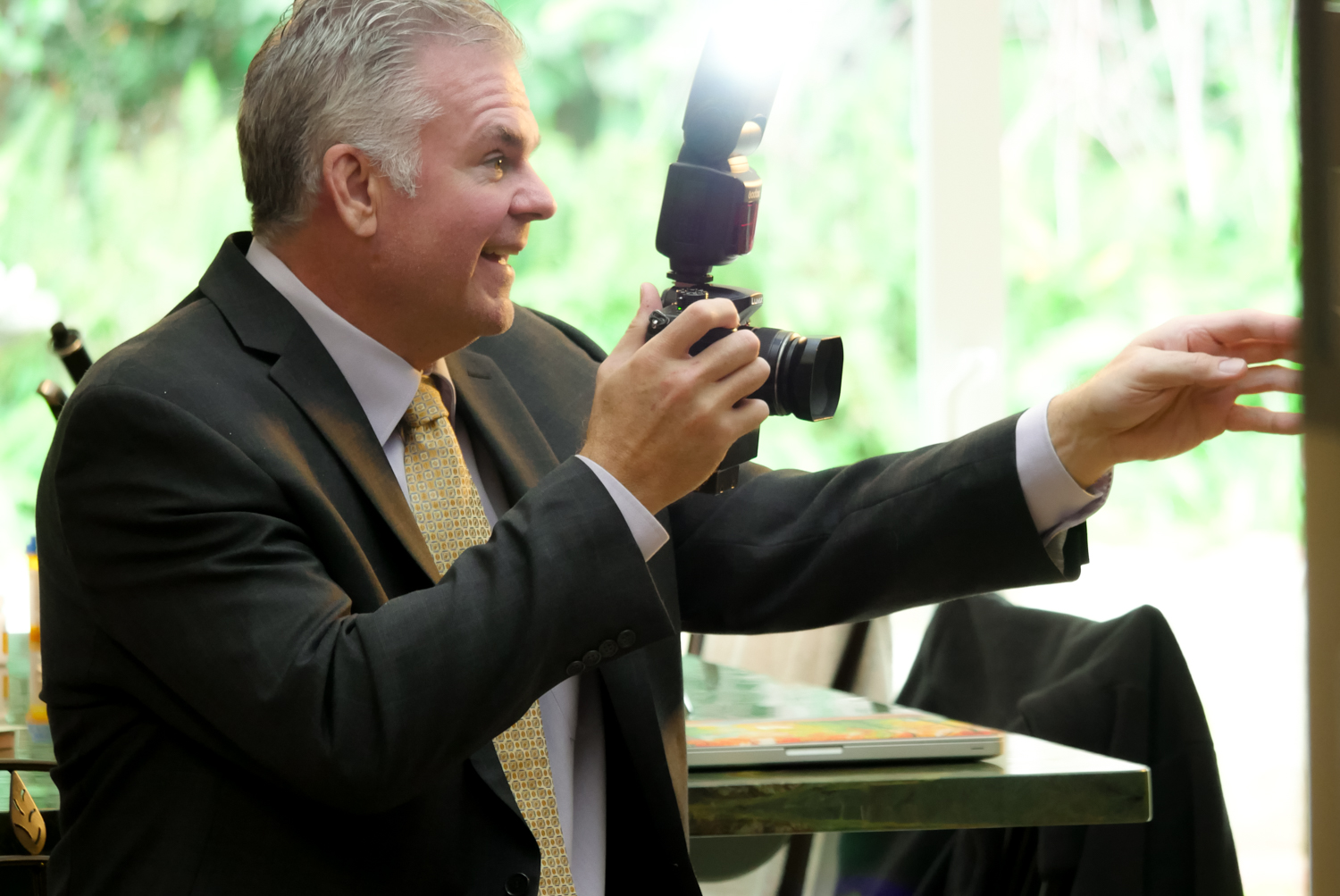 "Have camera ""Will"" travel. - Oooh, sorry for the Dad joke there. Part creative, part technogeek, Will Crockett is PortraitLink's director of imaging and is sharply focussed how to apply the powerful new imaging technology inside PortraitLink toward helping our clients achieve their online marketing goals. Specializing in the wine industry, Will has been able to optimize our photomarketing process to deliver an entirely new method of the Direct To Consumer social media marketing that the central coast's wineries are asking for."
