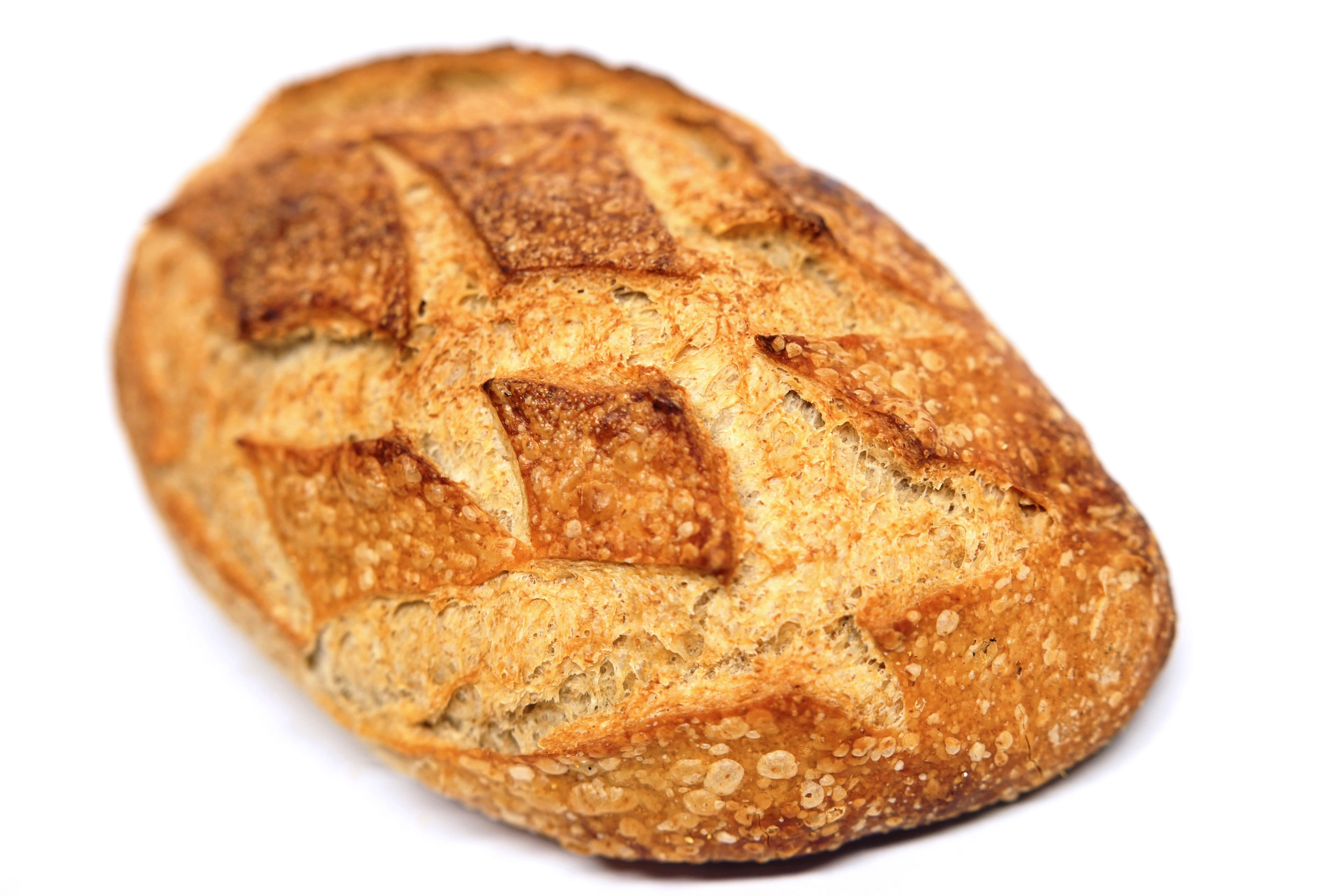 Whole Wheat Sourdough - All natural sourdough with a blend of whole wheat and unbleached flour.*Tuesday to Saturday