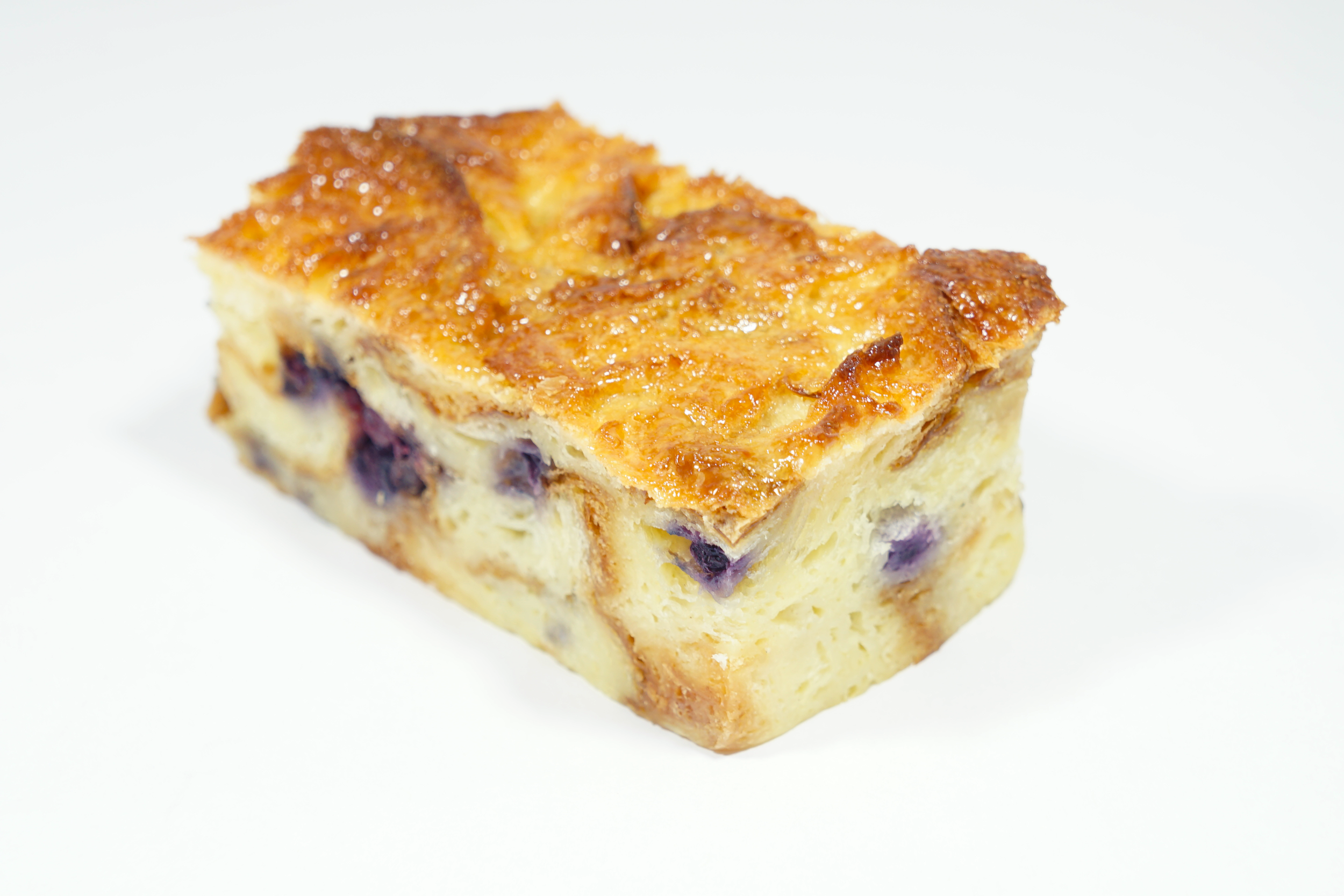 Blueberry Bread Pudding -