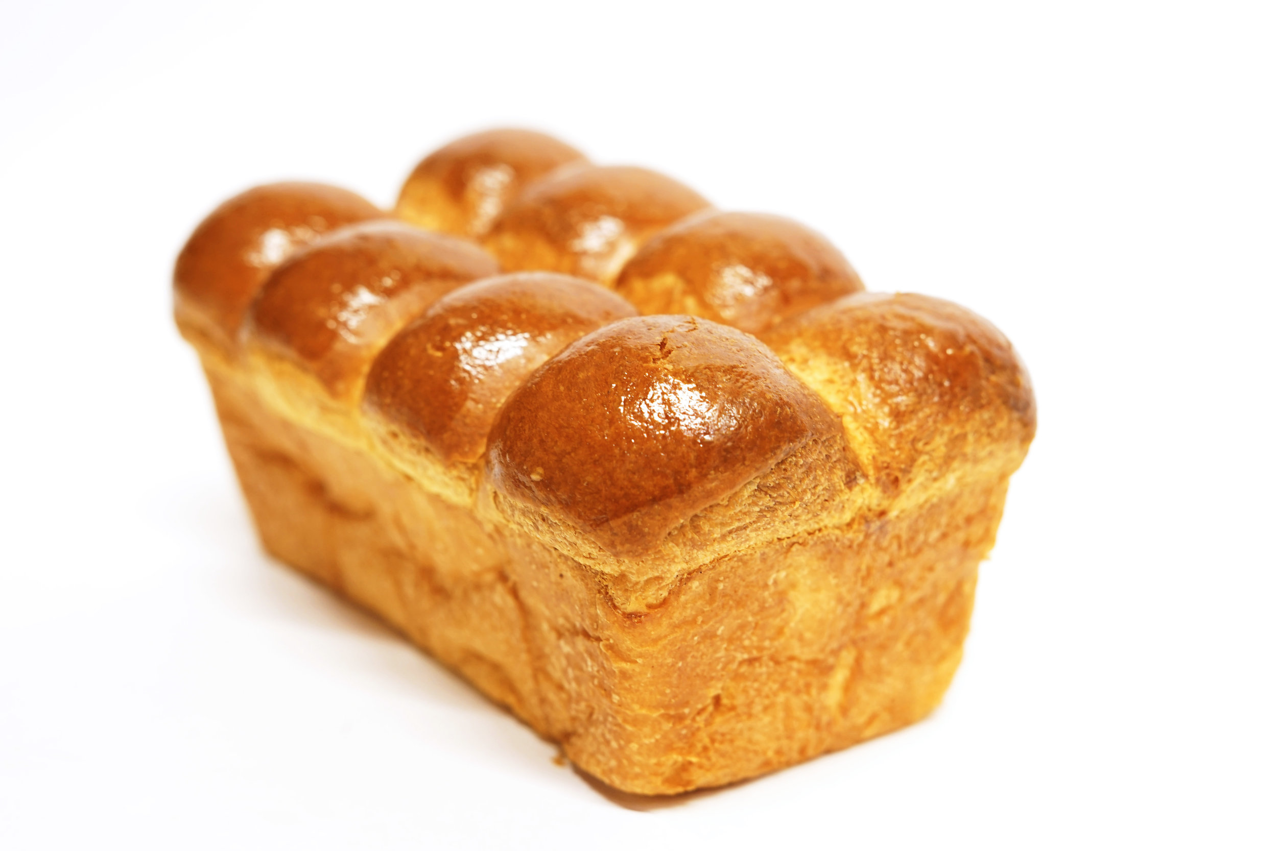 Brioche - This is one of the most beloved recipes. Very light, tender and full of flavor. This egg and butter bread will brighten any breakfast.*Friday and Saturday