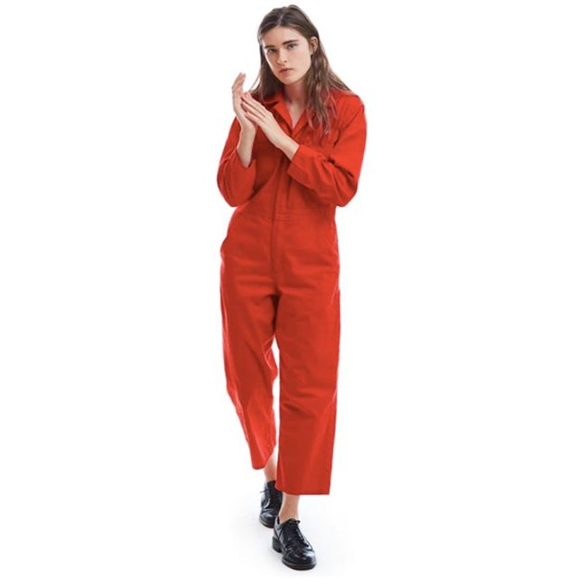 • Love it ❤️✂️ Make It • • ❤️ Lincoln Unisex Jumpsuit • ✂️ Merchant & Mills Thelma Boilersuit Pattern • #thelma #boilersuit #coveralls #sew #sewingpatterns #sewyourown #memadeeveryday #handmadewardrobe #merchantandmills #makeyourownclothes
