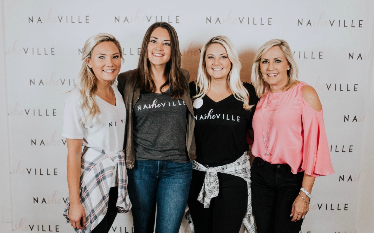 Onecountry.com - A quick look at the story behind NaSHEville's launch, October 2018.
