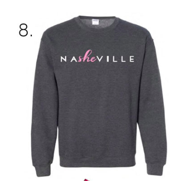 Southern Bridal holiday gift guide - Shop NaSHEville sweatshirts now!