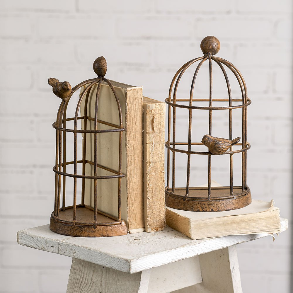 Baskets & Bookends -