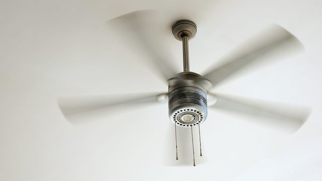 CEILING FAN - Upgrade to a more energy-efficient ceiling fan. ENERGY STAR qualified models are up to 50% more energy-efficient than conventional fans, with the most potential energy savings coming from those that include lighting. In the winter, set your fan to turn in the clockwise direction to help efficiently distribute warm air throughout your room.