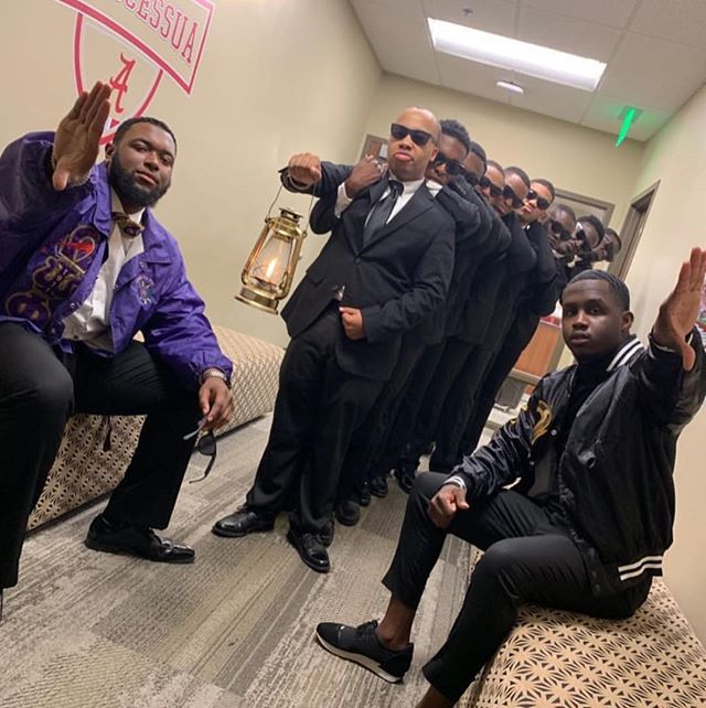 Congratulations to the new members of the Beta Eta Chapter of Omega Psi Phi Fraternity, Inc. We would like to welcome you on the yard! #Spring19 #9SSS 🐶⚡️