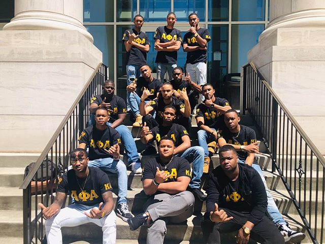 Congratulations to the newest members of the Kappa Alpha Chapter of Alpha Phi Alpha Fraternity, Inc.! #PHUTURE @kamovement 👑