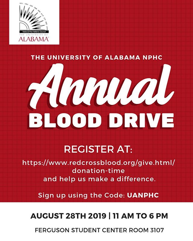 It's that time of year again 💉. Join NPHC as we donate blood to the Red Cross. Register today at https://www.redcrossblood.org/give.html/donation-time. Start your year off by making a difference.