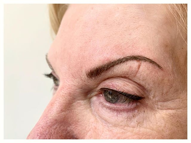 Deseyener Eyeliner #permanentmakeup upgrade and touch up to brows for this sweet sweet client! I Absolutely #lovemyjob and it has been a busy week for permanent makeup! If you have any questions about permanent makeup I'm only a phone call away! Big news coming soon!