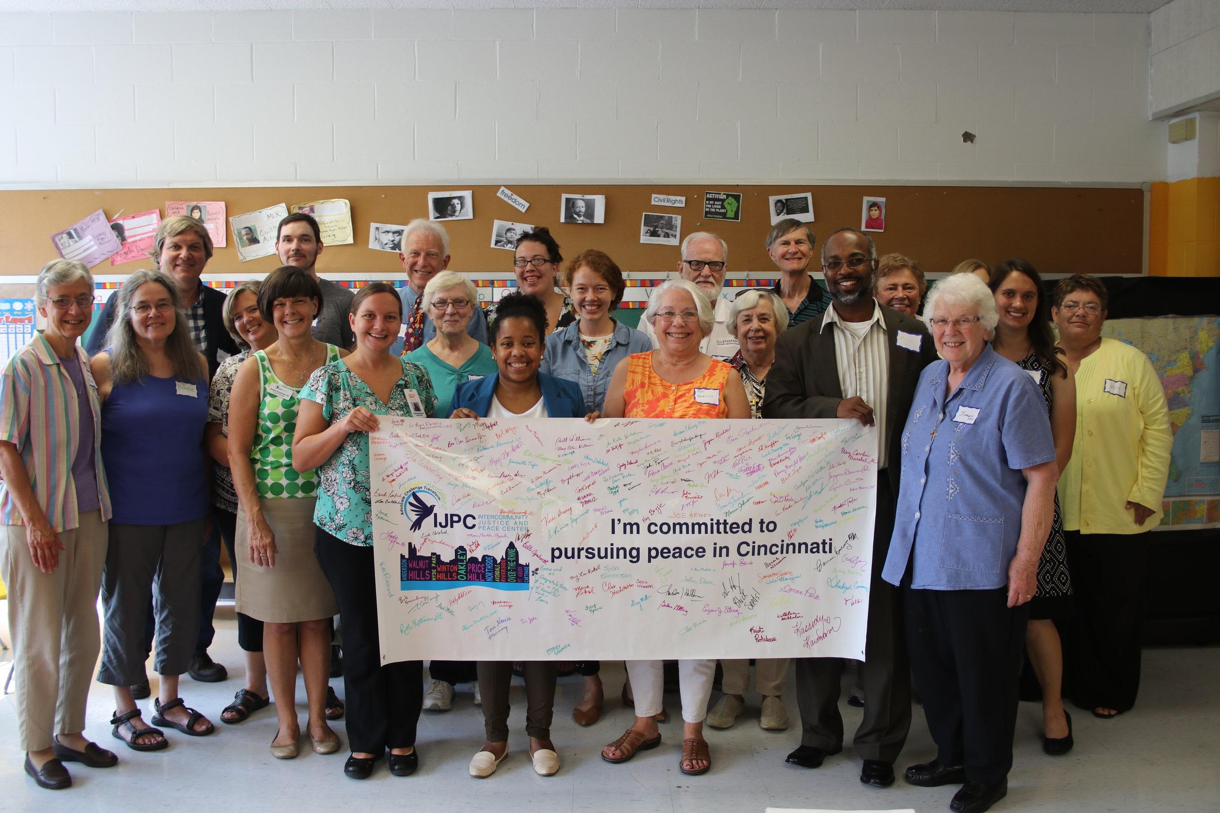 Launch of Nonviolent Cincinnati