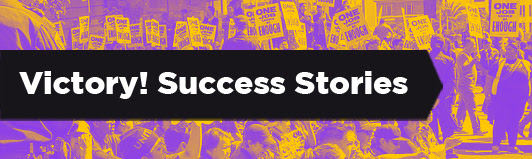 Nonviolence News shares recent success stories so we see and remember that nonviolent action is powerful and effective.