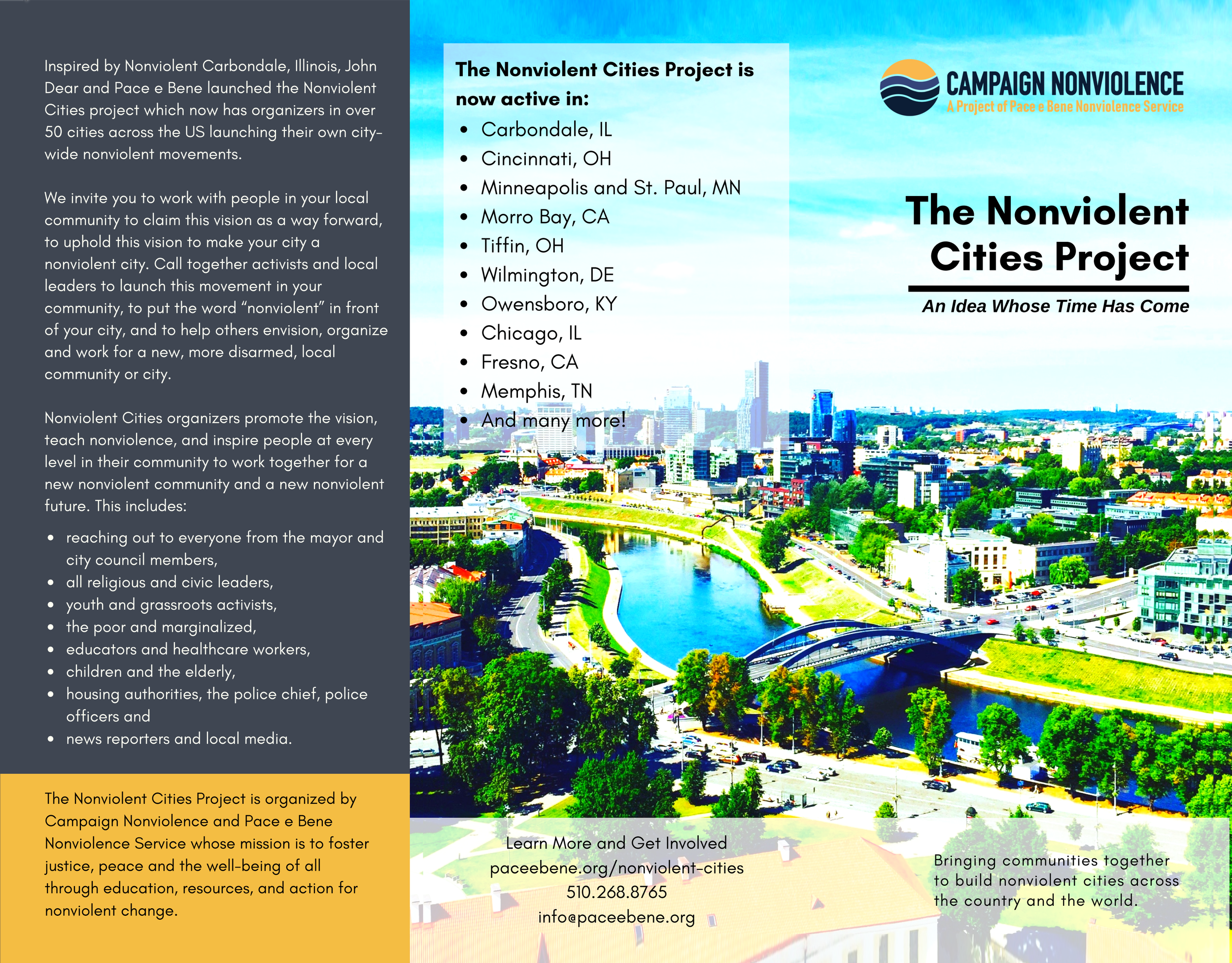 Nonviolent Cities Brochure