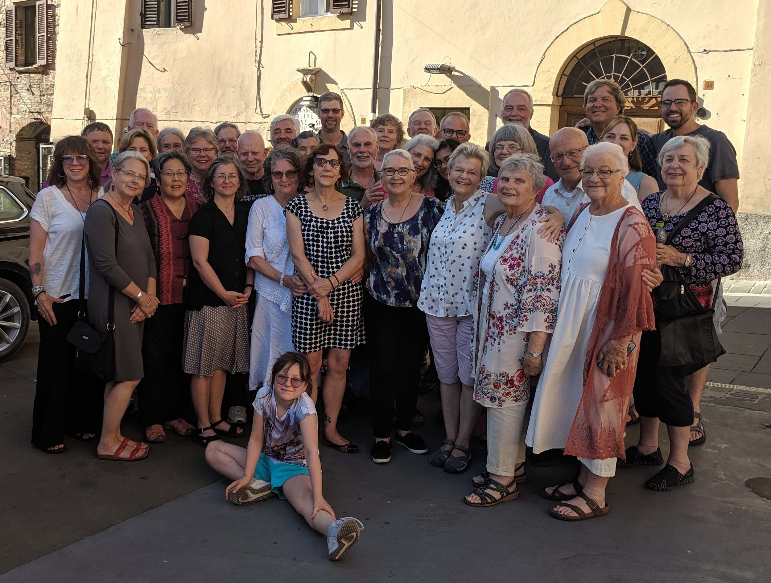 Peace and Nonviolence Pilgrimage Group - Assisi, Italy