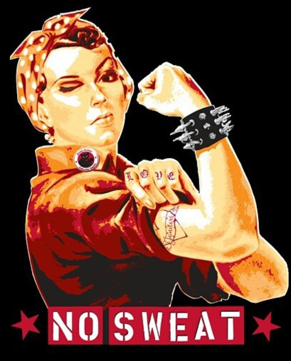 T-shirts made from  No Sweat Apparel